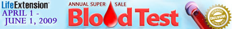 Life Extension Blood Test Sale