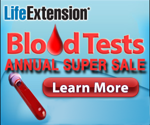 Life Extension 2016 Blood Test Sale
