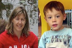 Melinda Stratton and HER son Andrew