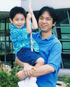 Alienated Father Wee Cheng and son Adriel Cheng